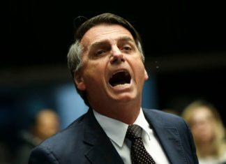 Primo piano Jair Bolsonaro, presidente del Brasile