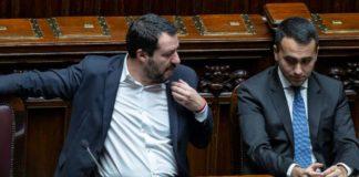 Salvini Di Maio ong migranti