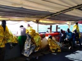 libia immigrati barcone sea watch