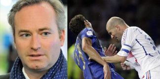 Lemoyne testata Zidane Materazzi Francia