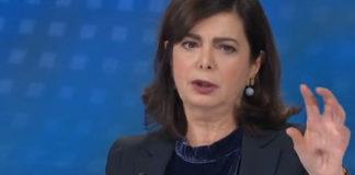 Laura Boldrini a La 7