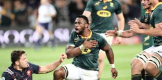 sudafrica rugby quote nere