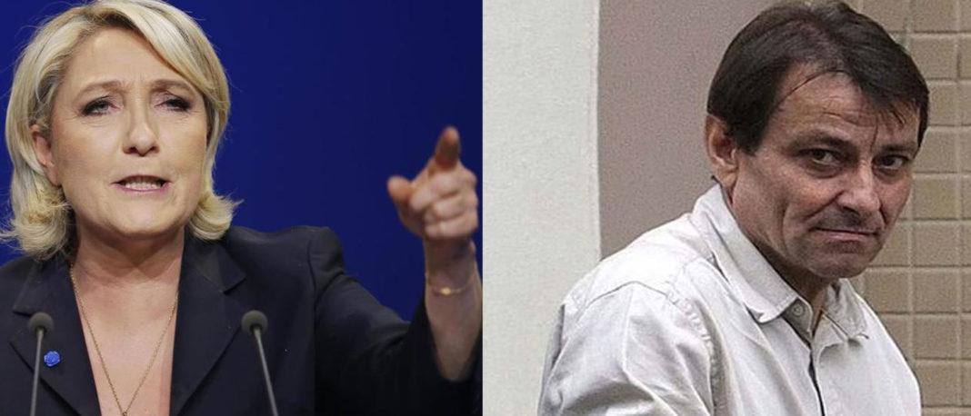 Marine Le Pen contro Cesare Battisti