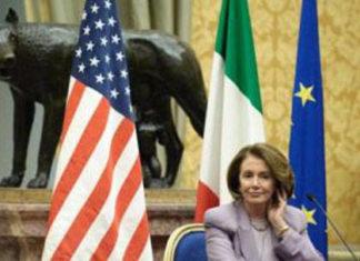 pelosi trump ambasciata italiana