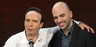 Roberto Benigni e Roberto Saviano