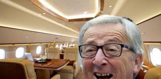 Juncker jet privato