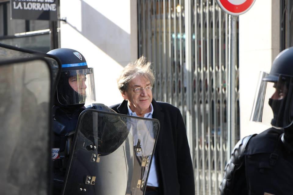 Alain Finkielkraut a Parigi