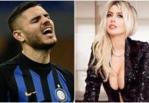 Icardi Wanda Nara Inter fascia capitano