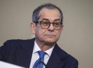 Giovanni Tria, ministro dell'Economia