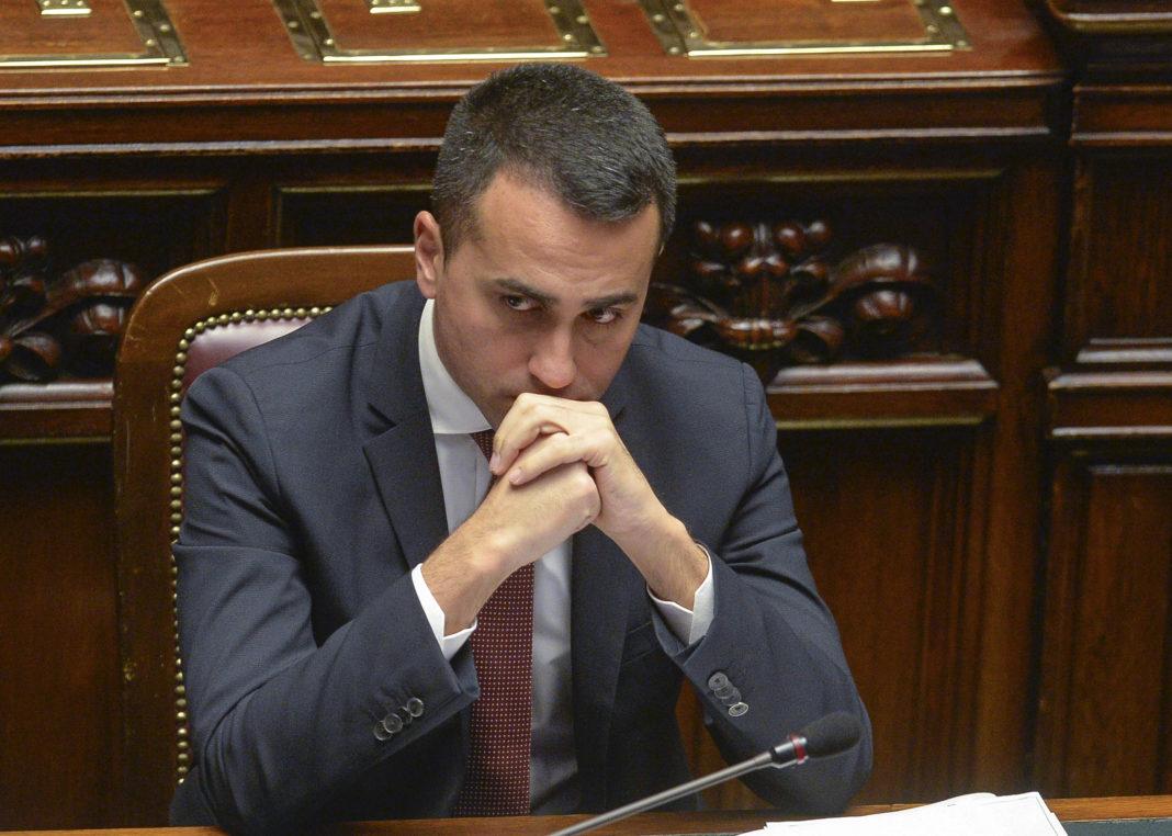Luigi Di Maio deluso