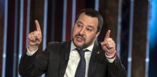 Matteo Salvini contro Anpi