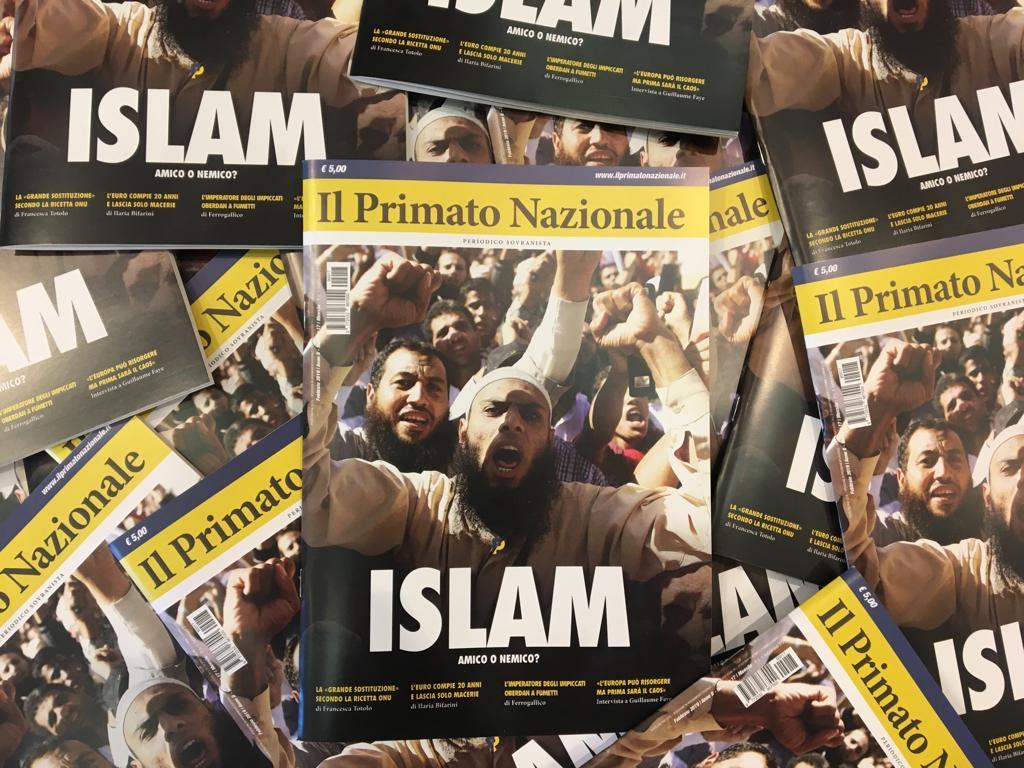 Primato Nazionale mensile islam