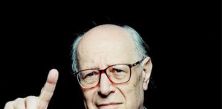 Il filosofo italiano Emanuele Severino