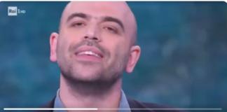 Roberto Saviano a Che Tempo Che Fa