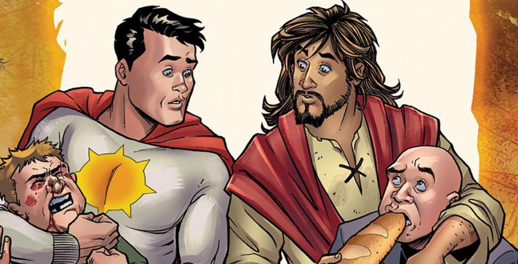 il fumetto Dc Comics che ironizza sulla seconda venuta di Gesù