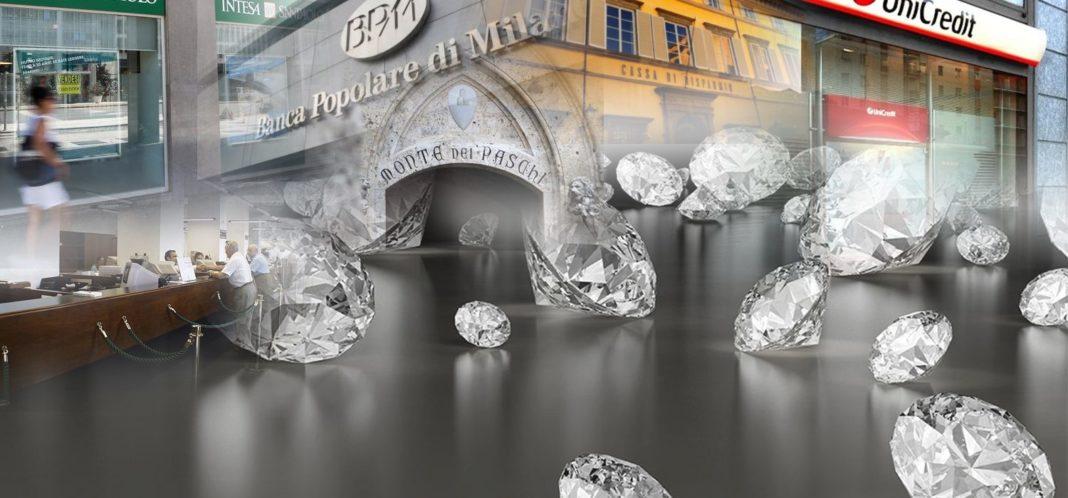 banche truffa diamanti