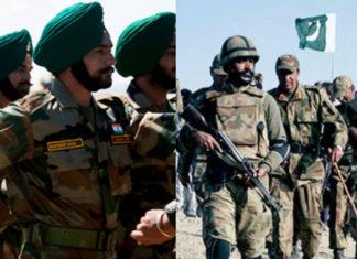 Esercito indiano e pakistano