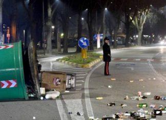 Ferrara, devastazione