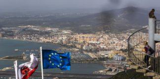 Gibilterra, bandiera Ue