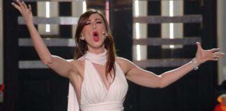 Virginia Raffaele accusata a Sanremo di aver invocato Satana
