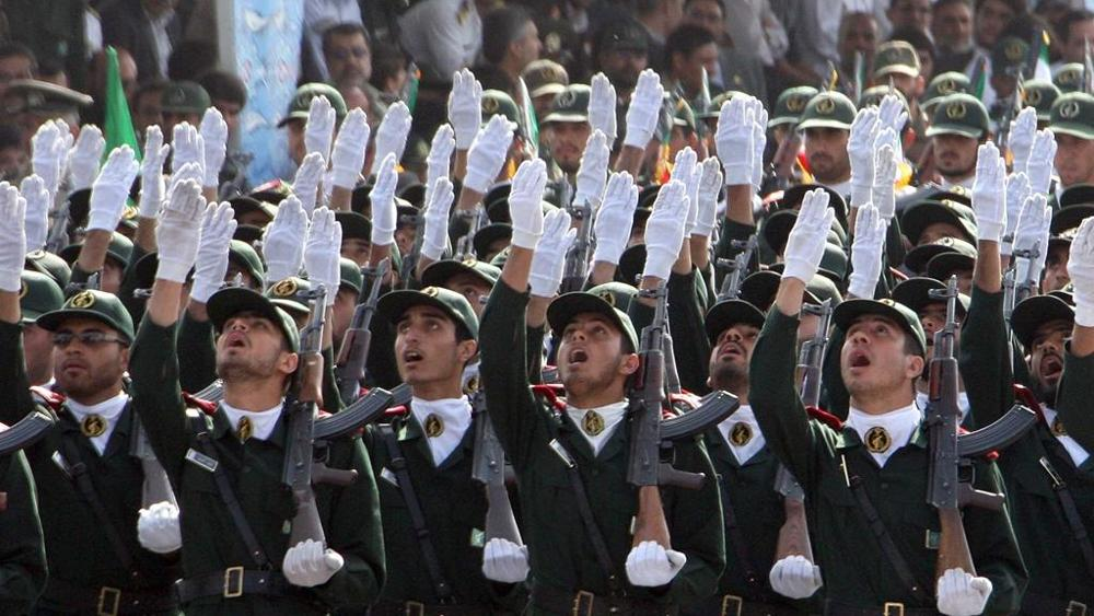 Pasdaran parata in Iran