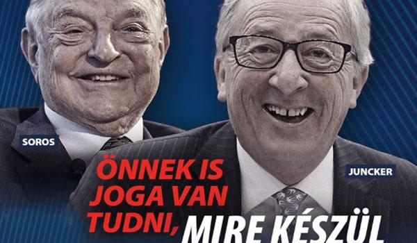 Orban contro Soros e Juncker