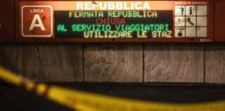 La stazione metro di Repubblica chiusa da 125 giorni