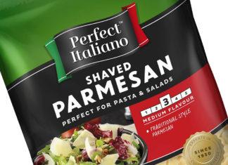 """una confezione di """"parmesan"""", uno dei prodotti italiani più taroccati"""