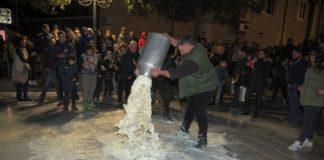 la protesta dei pastori sardi galluresi