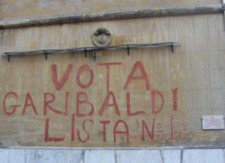 """La storica scritta """"vota Garibaldi"""" alla Garbatella cancellata per errore dal Campidoglio"""