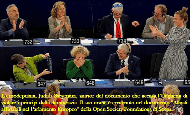 L'eurodeputata Judith Sargentini
