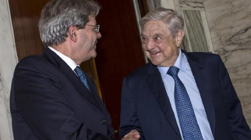 Gentiloni e Soros