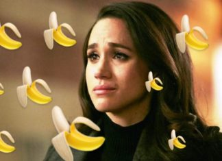Meghan Markle, attacco haters con emoticon di banane