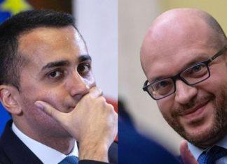 Il vicepremier Di Maio e il ministroper la Famiglia Fontana