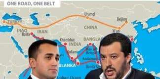 Il vicepreimer Di Maio e il vicepremier Salvini