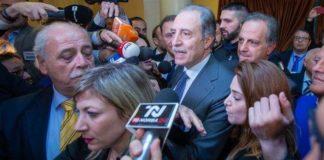 Il neogovernatore della Basilicata Vito Bardi