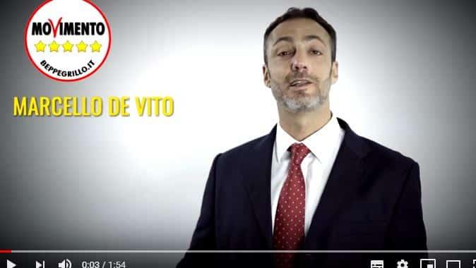 Video elettorale di Marcello De Vito
