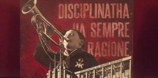 Cofanetto dei Disciplinatha con iconografia fascista