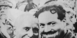 Benito Mussolini e Italo Balbo