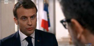 Macron intervistato da Fazio su Rai1