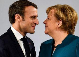 Macron e la Merkel