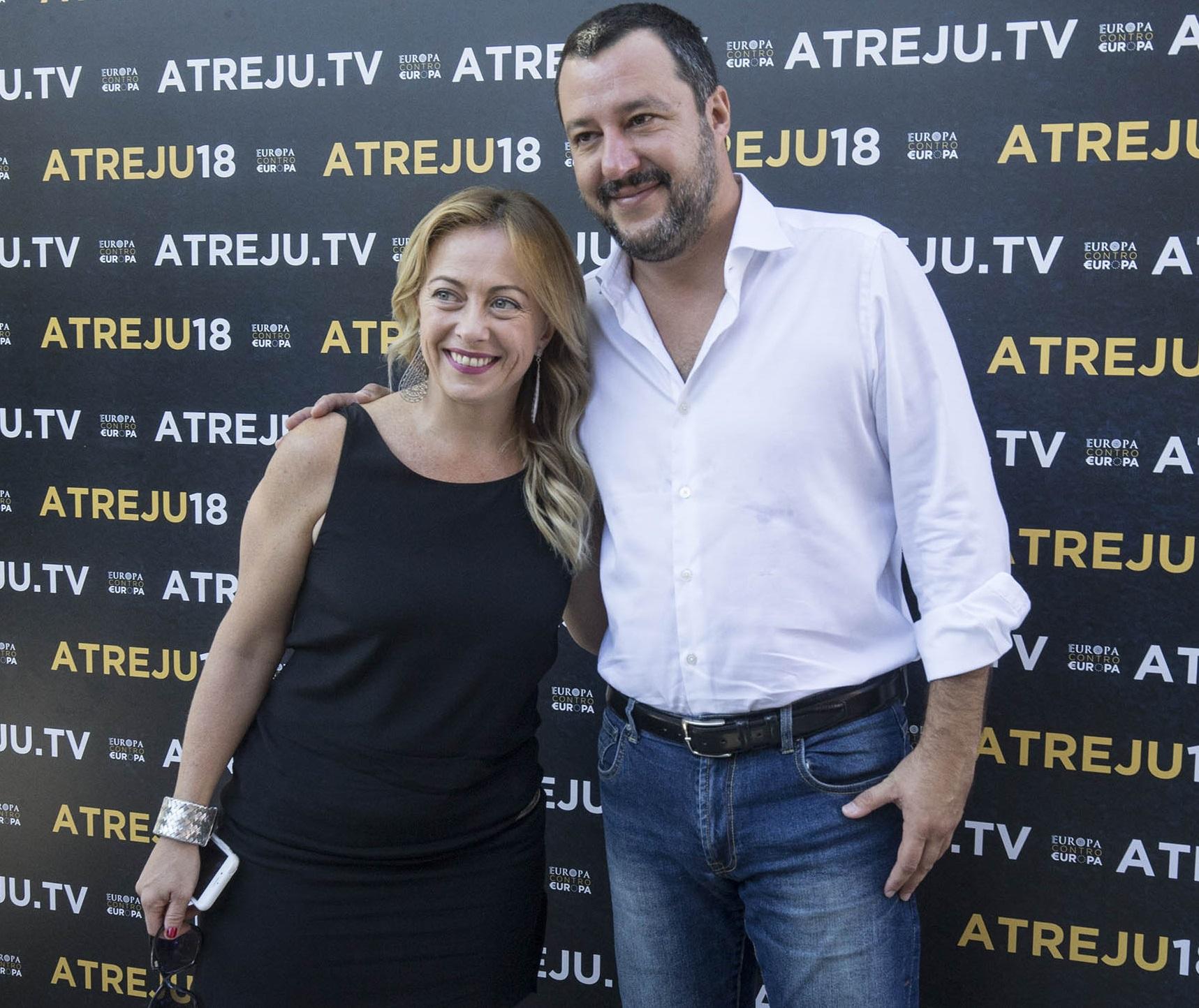 Europee, Salvini già lavora al dopo Lega-M5S (insieme con la Meloni?)