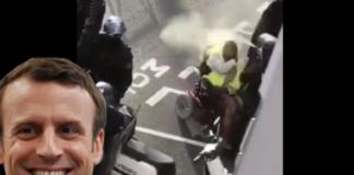 macron gilet gialli violenze polizia