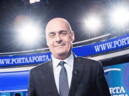 Il neo segretario Pd Nicola Zingaretti