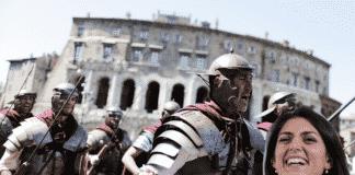 Natale di Roma e Virginia Raggi