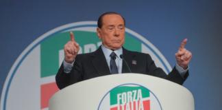 Silvio Berlusconi al congresso per i 25 anni dalla vittoria elettorale del 1994