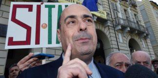 Il neosegretario del Pd Nicola Zingaretti
