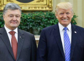 Poroshenko e Trump