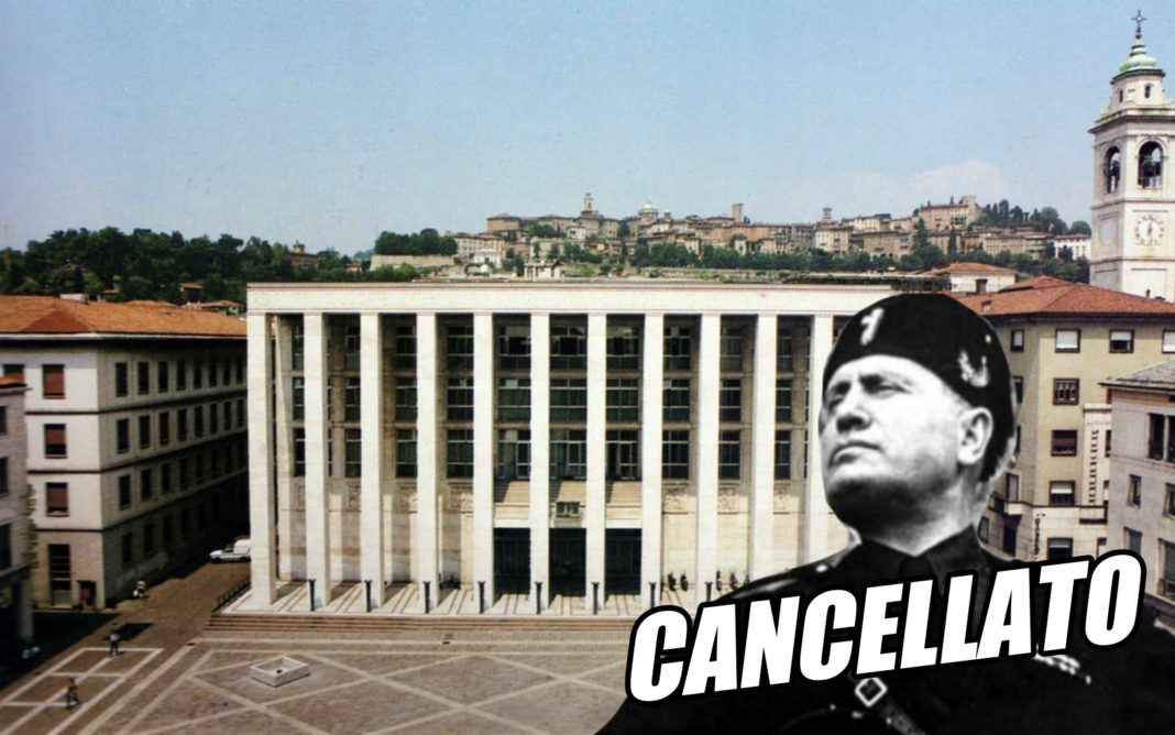 a Bergamo cancellata la cittadinanza onoraria a Mussolini