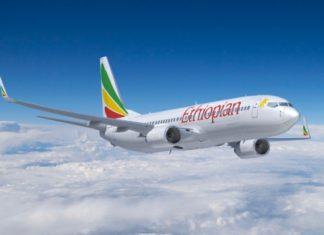 Aereo etiope della Ethiopian Airlines